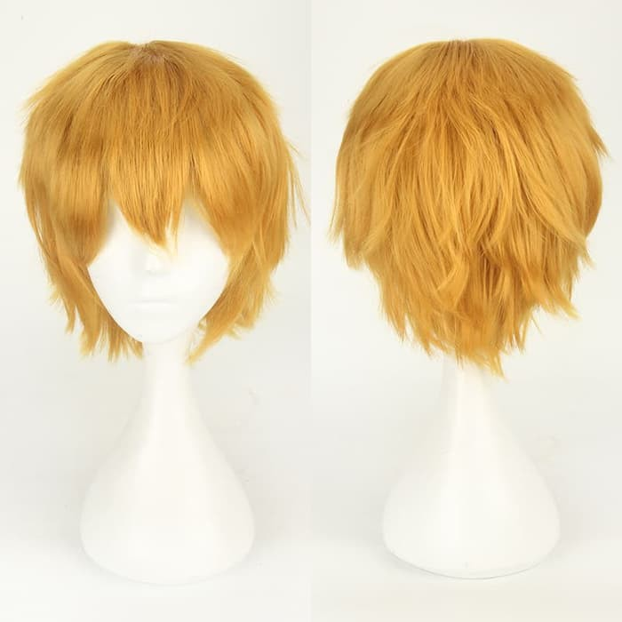 Toupee Rambut Palsu Penutup Botak Fake Scalp Hair Wig Pria Cowok Clio | Shopee Indonesia