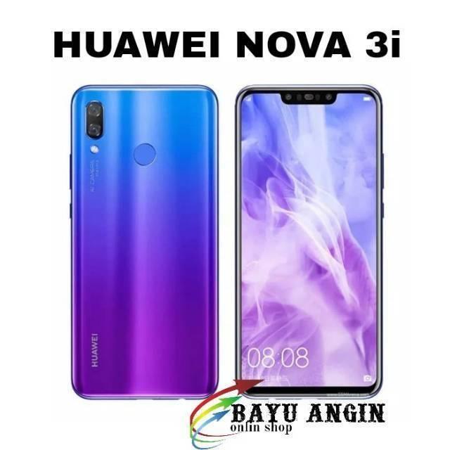 Huawei Nova 3i 4 128 Twilight Blue Iris Purple Garansi Resmi
