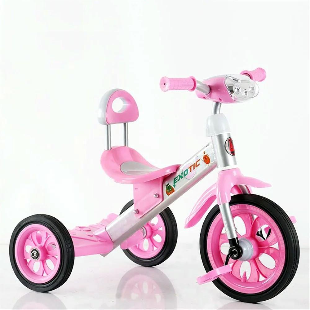 Sepeda Roda Tiga Anak Exotic ET1260 IC Music Headlight Ban