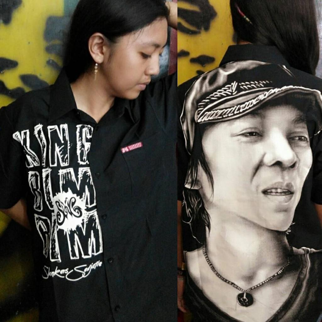 Kemeja Rx King Shopee Indonesia Chocker Slice Top Blouse Baju Atasan Wanita Bl899