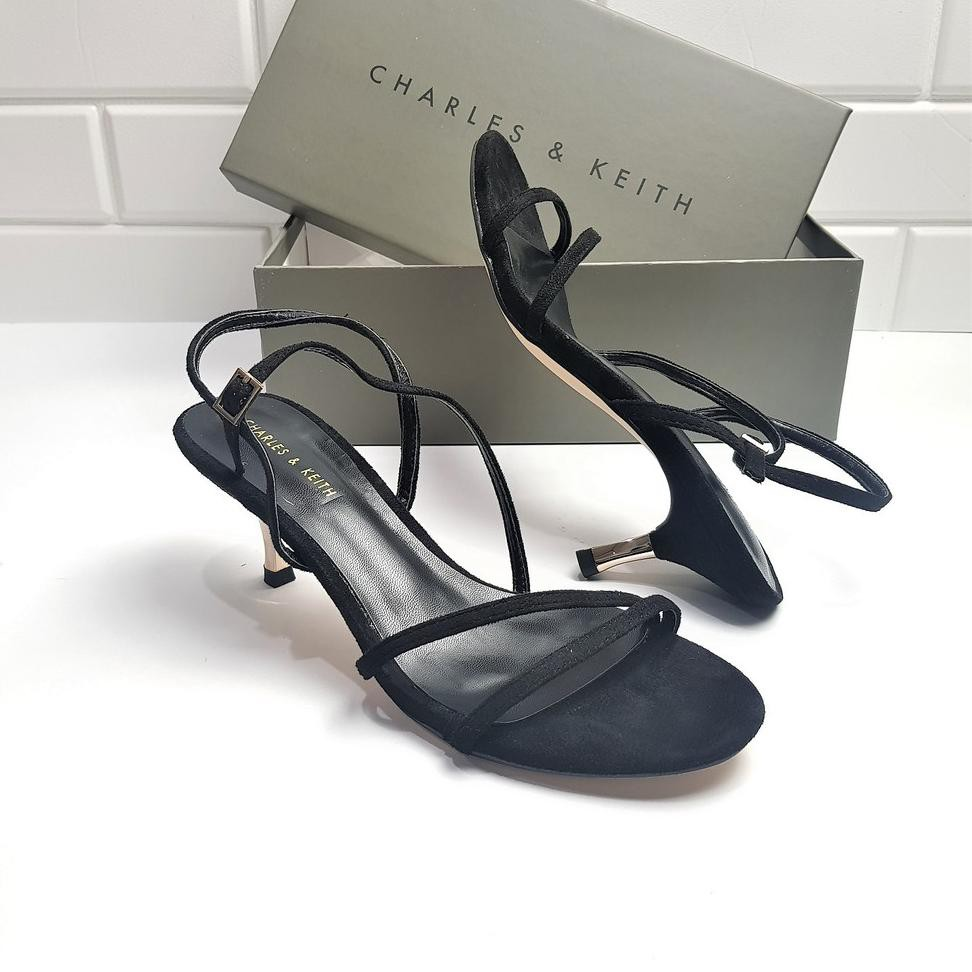 (CODE DRF3240) CNK C&K Strappy Metallic heel Sandal 1297(-_*)(=)