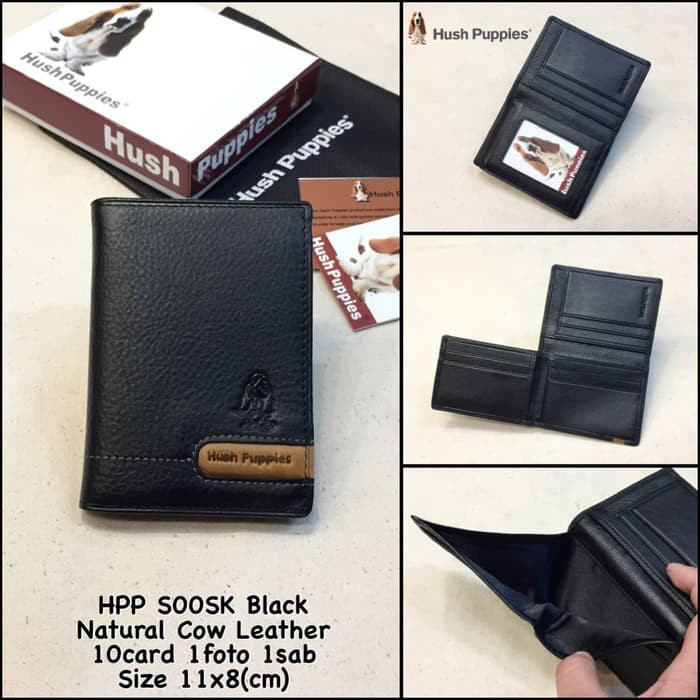 Premium dompet cowok hush puppies 470SK brown kw super dompet kulit murah  Q-317  3ccfe047c1