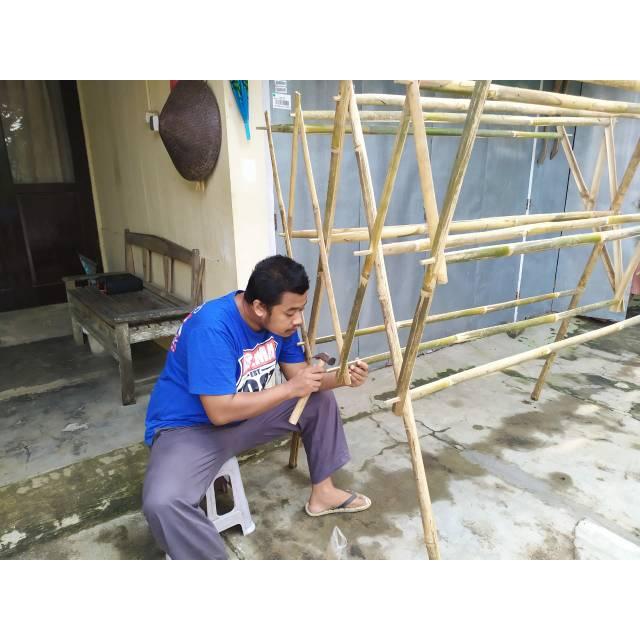 Jemuran Bambu Kuat Shopee Indonesia