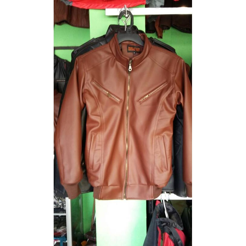 Jaket Raisa Warna Coklat Tan  d7484269e2