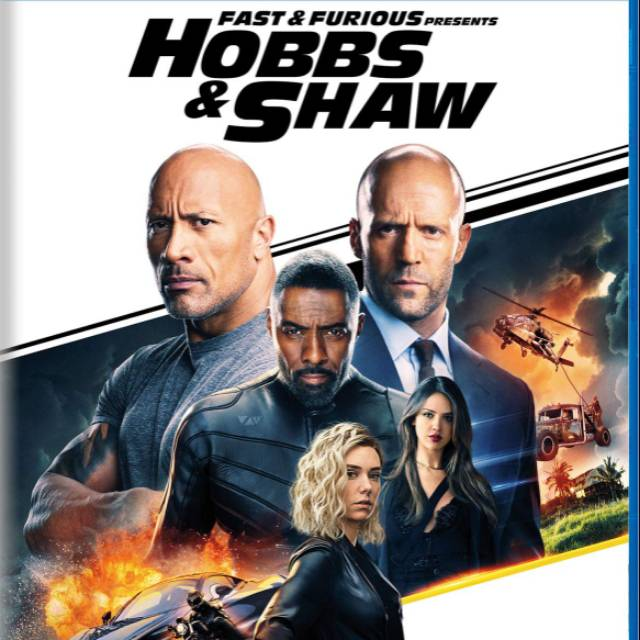 Fast And Furious Hobbs Shaw 2019 Bluray 1080p Movie Film Shopee Indonesia