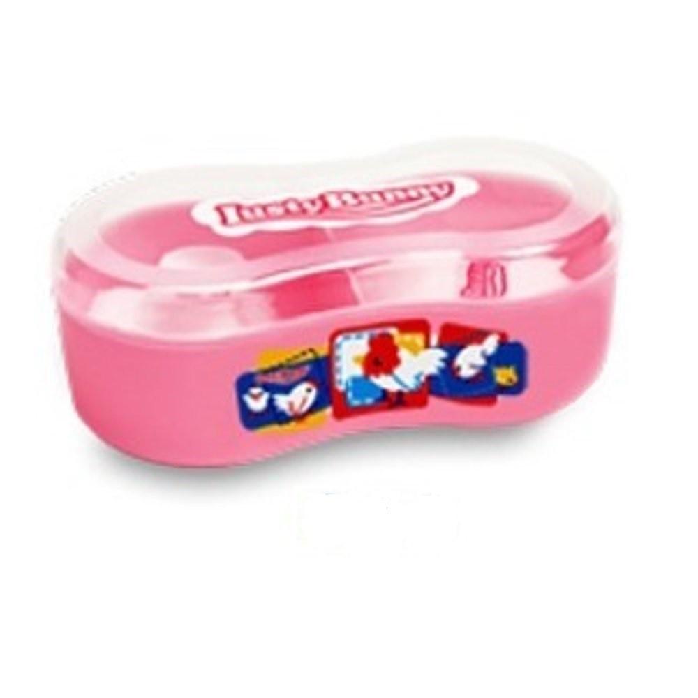 Freeshop Tempat Bedak Bayi Lusty Bunny Pink Daftar Harga Terbaru Powder Case Plus Soap Biru Muda Kacang Kode Tb 1601 Rajamarket