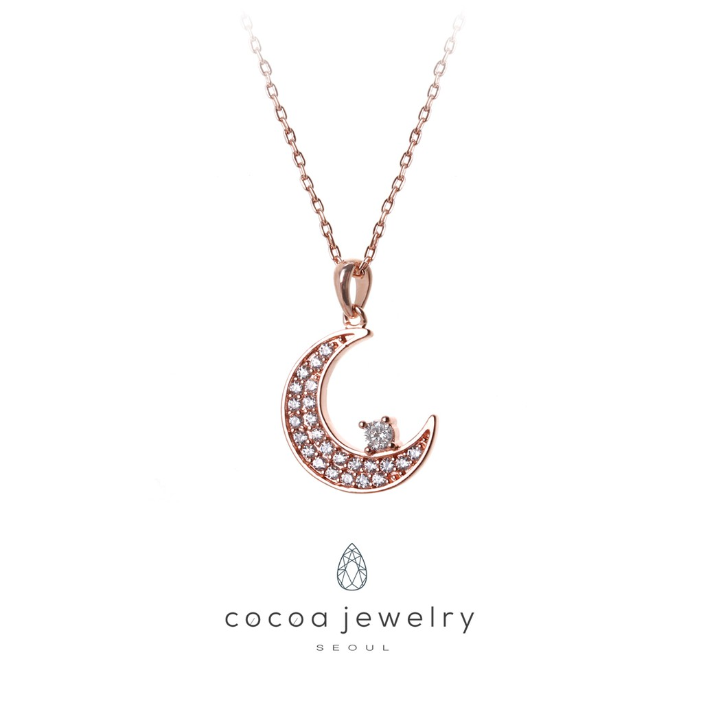Cocoa Jewelry Dreaming On The Moon Shopee Indonesia 1901 Kalung 258 26 Lapis Emas