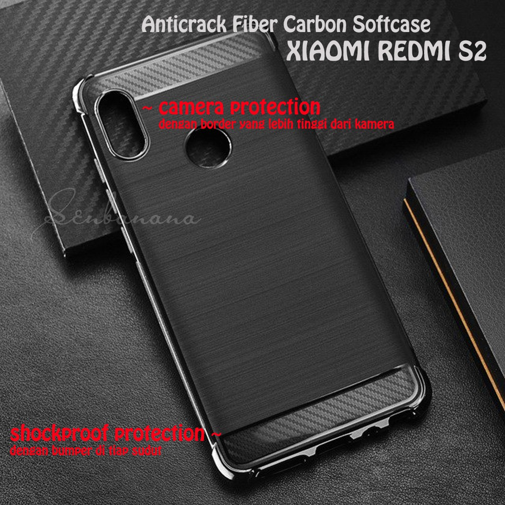 Redmi 5a Xiaomi Softcase Anti Crack Soft Case Shockproof Anticrack S2 Shopee Indonesia