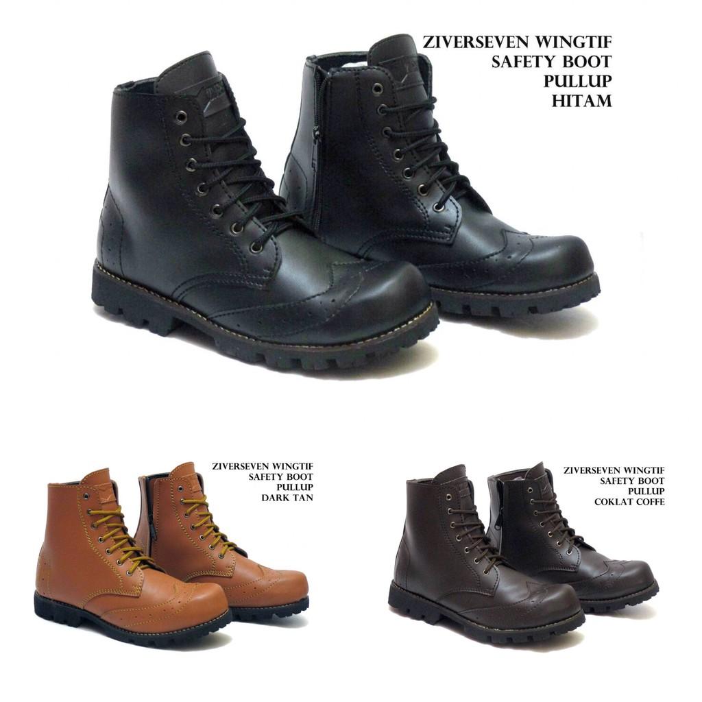 Sepatu Boots Pria Moofeat Watson Pria Murah - Sneakers - Trakking - Hiking - Santai |