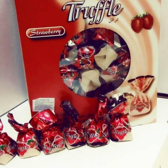 Coklat truflle strawberry 2kg