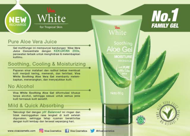 Merek Aloe Vera Gel Untuk Kulit Sensitif Dan Berjerawat