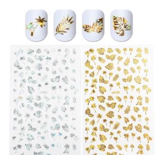 1 Lembar Nail Art Stiker 3D thumbnail