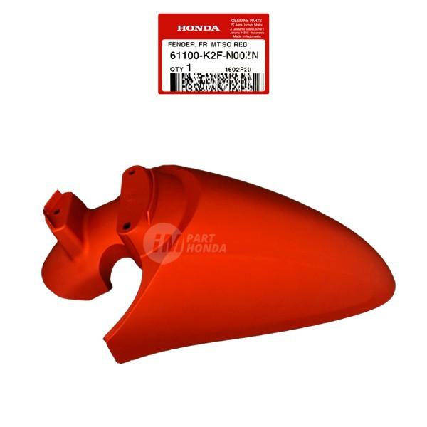 Slebor Spakbor Depan Scoopy Fi eSP K2F 2020 Merah DOF 61100-K2F-N00ZN