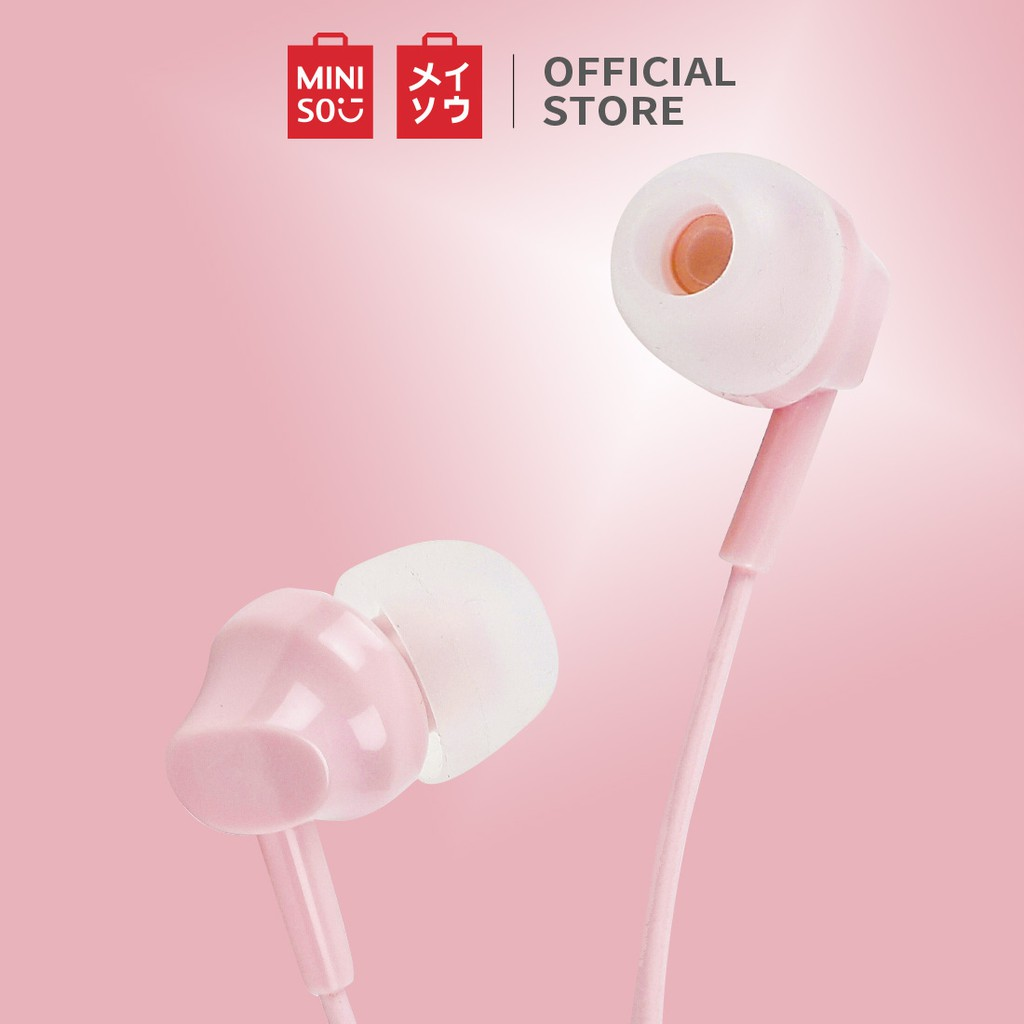 MINISO Earphone Mic Earbuds in Ear Headphone Noise Cancelling Awet Headset Universal #0