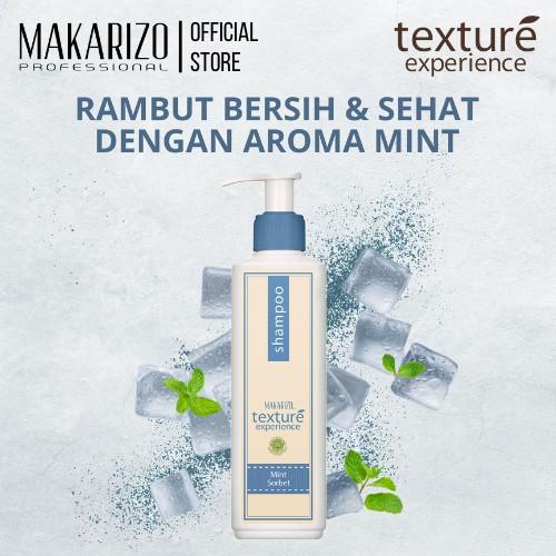 Makarizo Professional Texture Experience Shampoo Mint Sorbet 250 mL-1