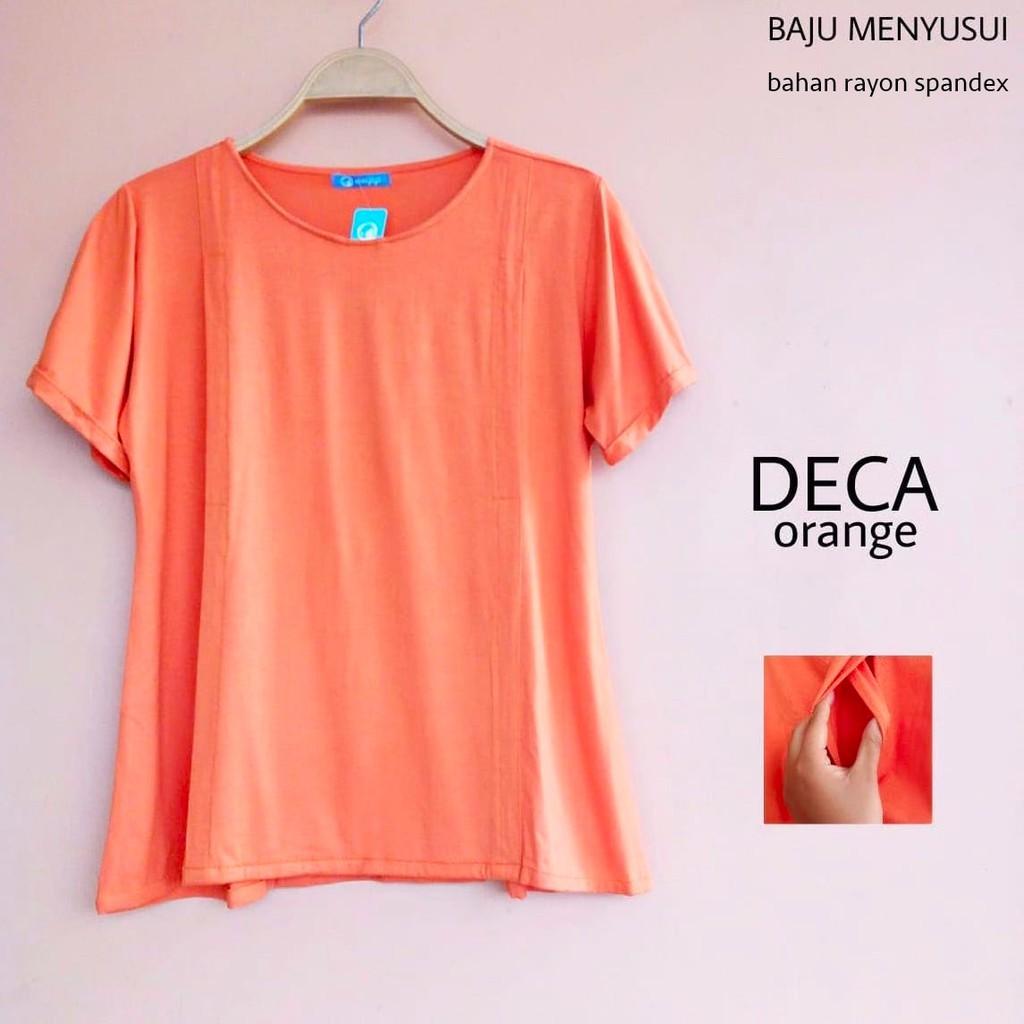 Baju Menyusui Atasan Katun Lengan Panjang Malia By Justmom Shopee Najma Black Nj102 Indonesia