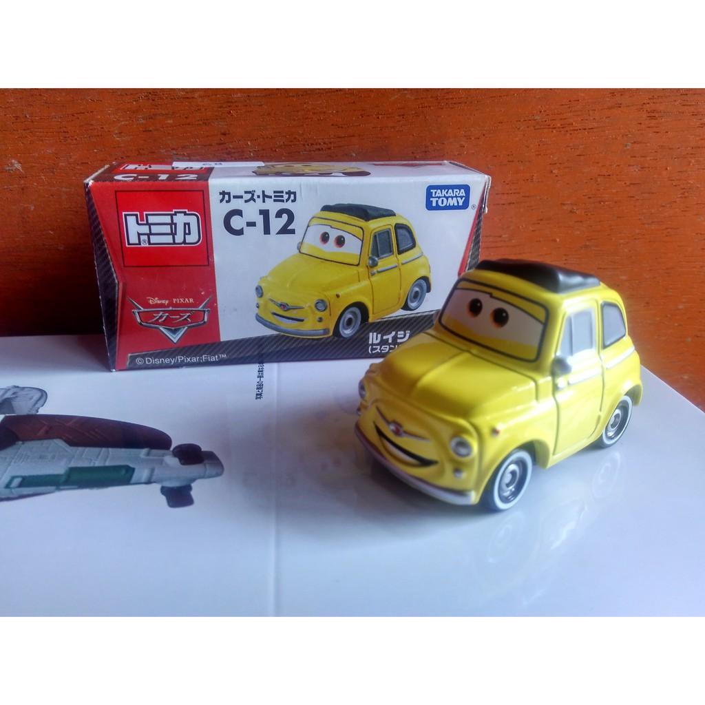 TOMICA CARS C-01 LIGHTNING MACQUEEN Diecast Miniatur Mobil Takara Tomy Original pajangan harga murah