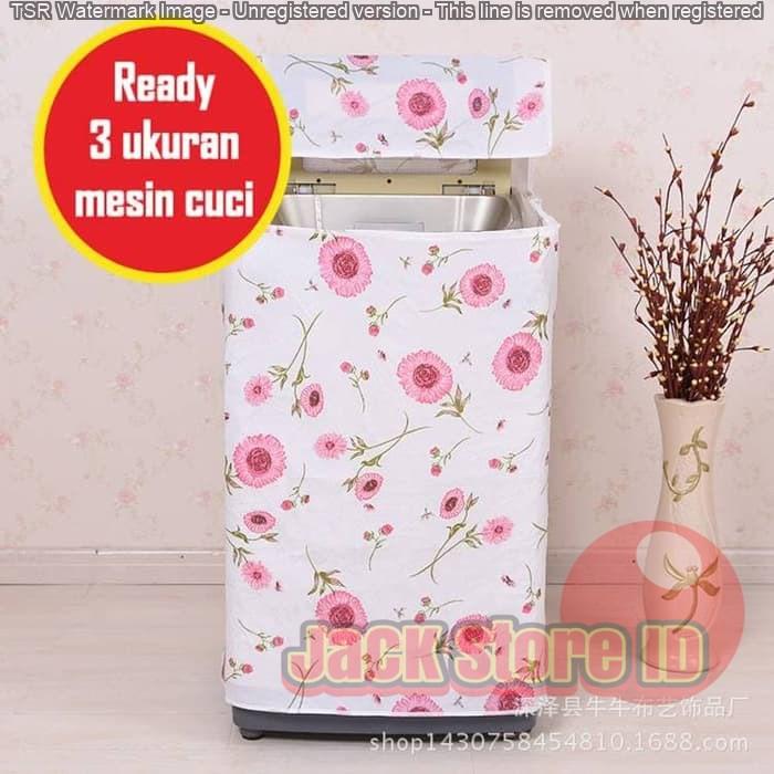 Sarung/Cover mesin cuci 1 Tabung/Washing Machine Cover Top Loading murah   Shopee Indonesia