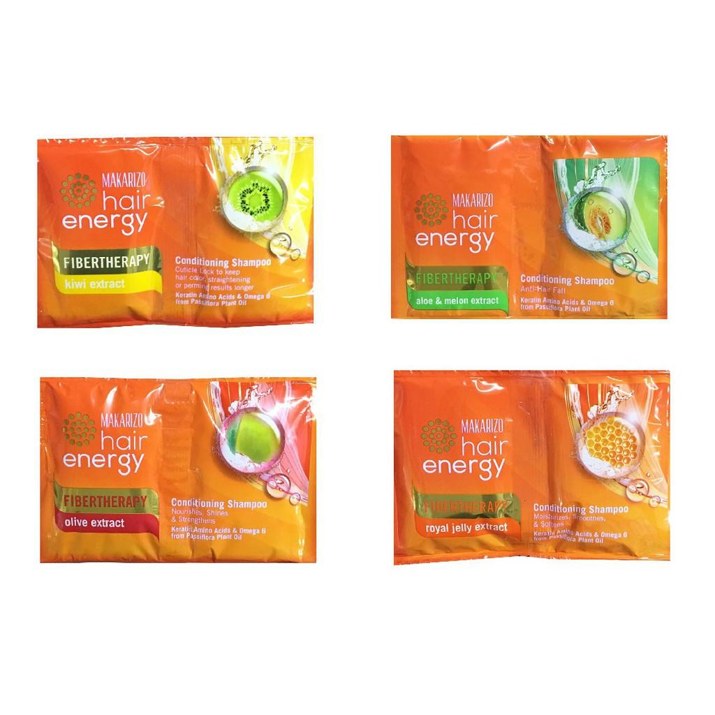 Makarizo Hair Energy Shampoo 10ML (1 Renteng isi 24 Saset)