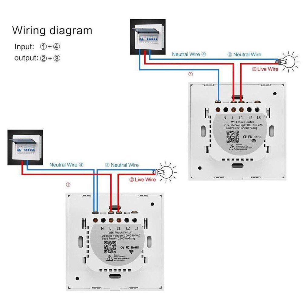 How To Wire 2 Switches To Control 1 Light