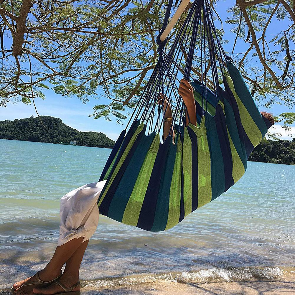 Bayar Di Tempat Travel Camping Hanging Hammock Lou Portable Lazy Chair Home Bedroom Swing Bed Shopee Indonesia