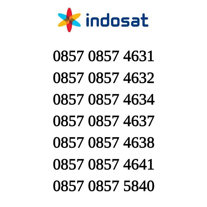 Kartu Perdana Indosat Nomor Cantik Im3 Nomer Cantik Seri 12345 | Shopee Indonesia