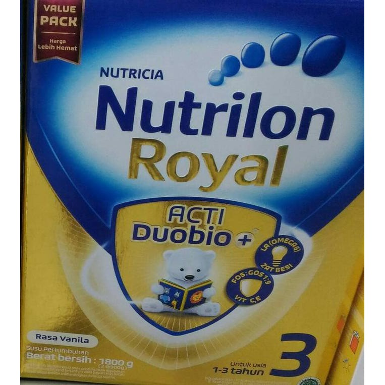 TERBARU NUTRILON Royal 3 Susu Pronutra Soya Tin 700g / 700 g Good Quality | Shopee Indonesia