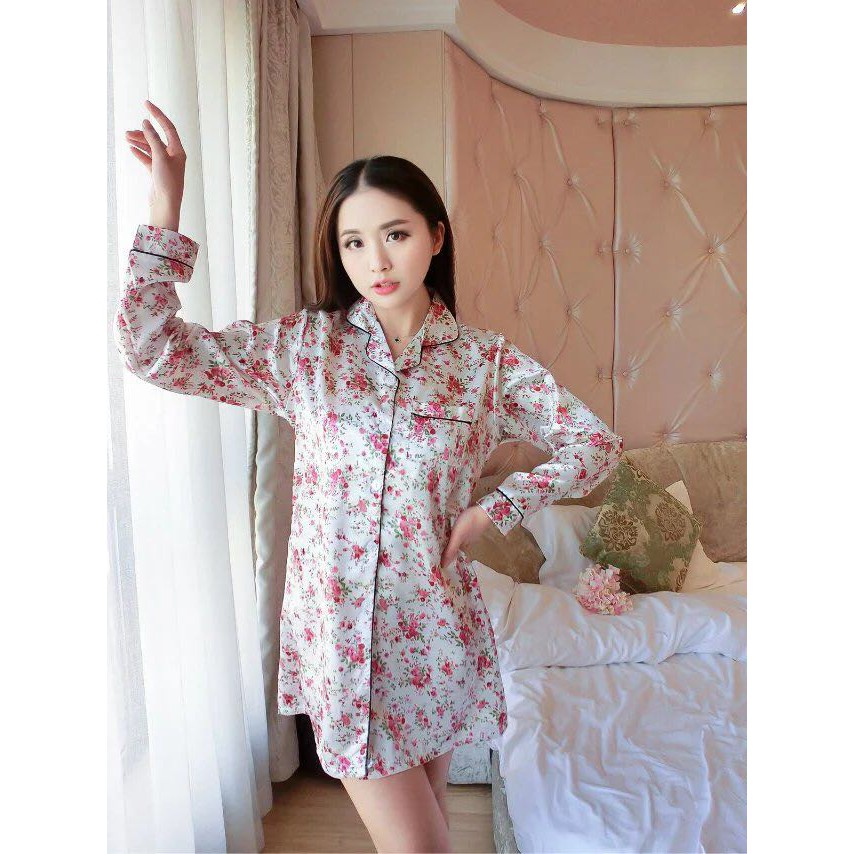 You've Sleepwear dress Strap Duck 108-2 Baju Tidur wanita sexy   Shopee