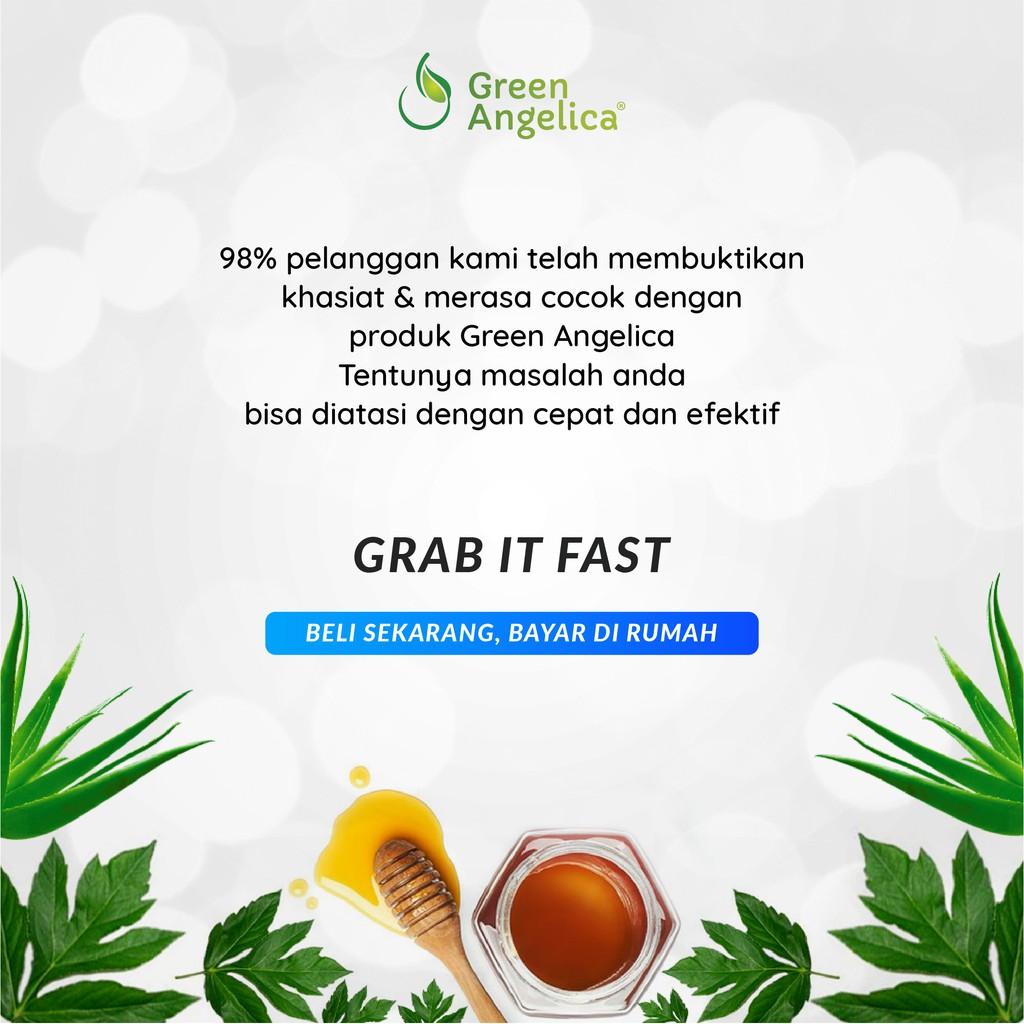 Shampoo Green Angelica Perawatan Rambut Rontok Mengatasi Ketombe-7