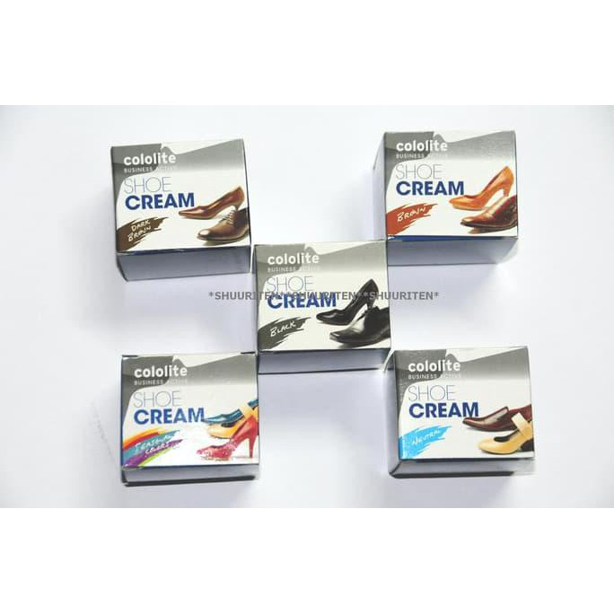 Cololite Shoe Cream .