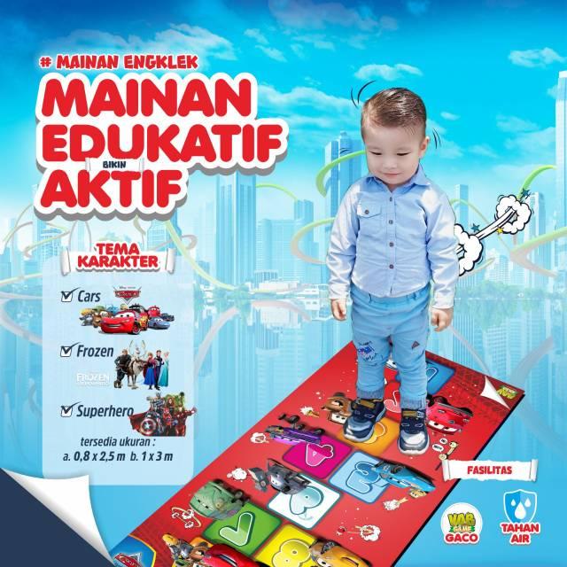 2 5x0 8m Engklek Raksasa Jumbo Permainan Tradisional Original Vob Game Shopee Indonesia