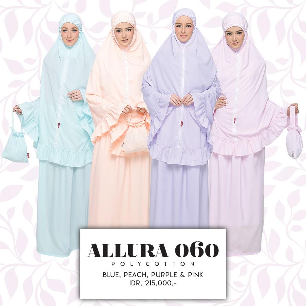 Mukena Tatuis Allura 060 Shopee Indonesia Tiara 320 Grey