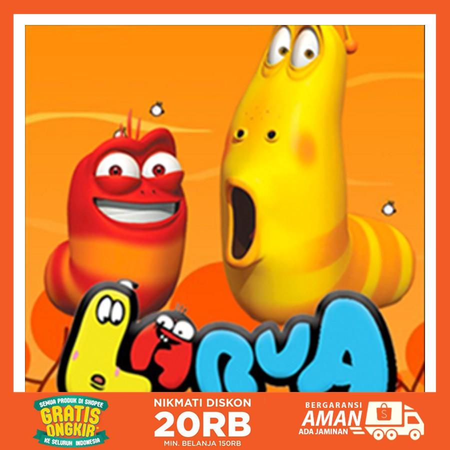 Dijual Seri Animasi Kartun Dvd Larva Season 1 6 Plete Season Berkualitas