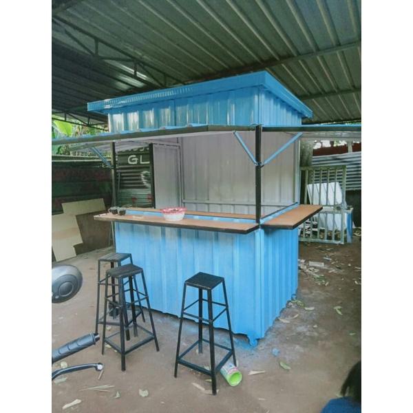 stand/kontainer/gerobak lipat