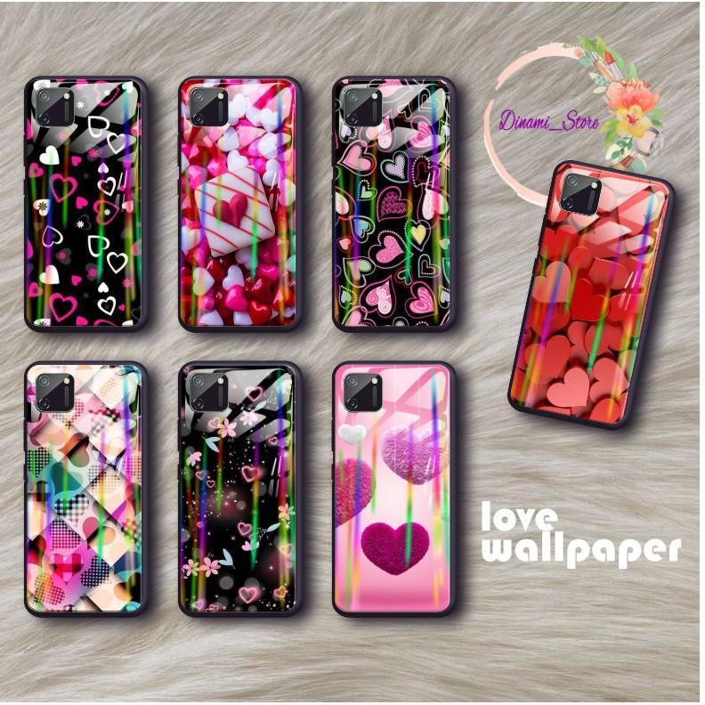 Dst437 Case Softcase Gambar Love Wallpaper Back Case Glass Aurora Samsung J2prime J3 J5 A01 A51 A71 Shopee Indonesia
