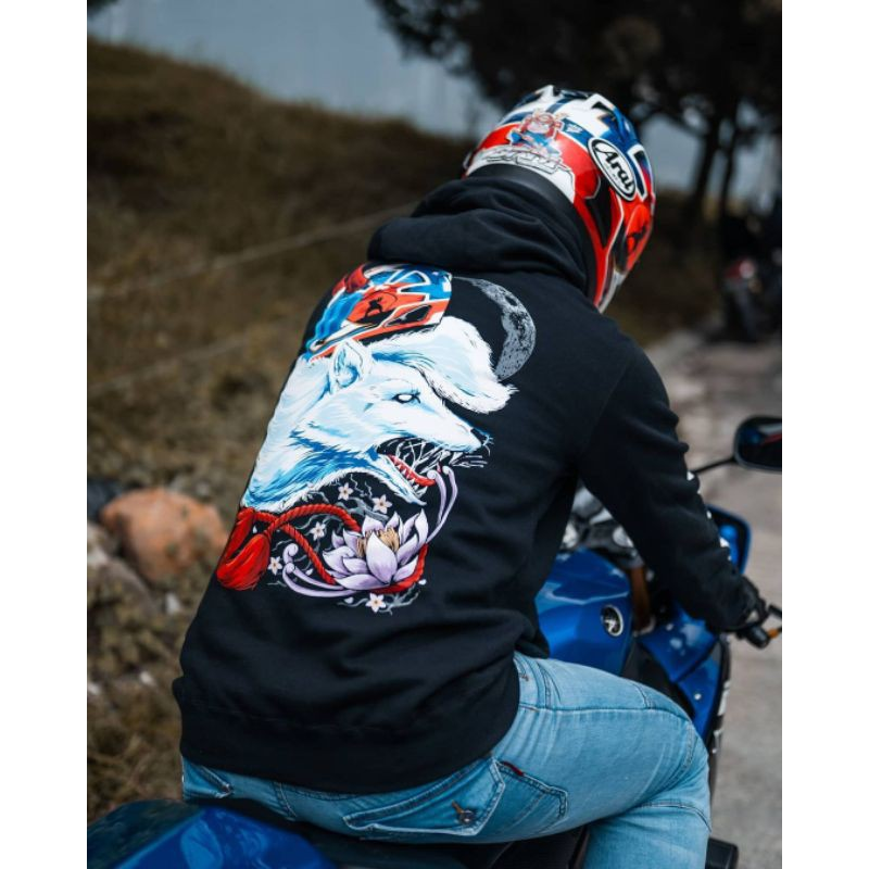 Hoodie Prostreet X Whitefox Project Limited Edition Only 243pcs not  Kohaku Blood Flower Rare item