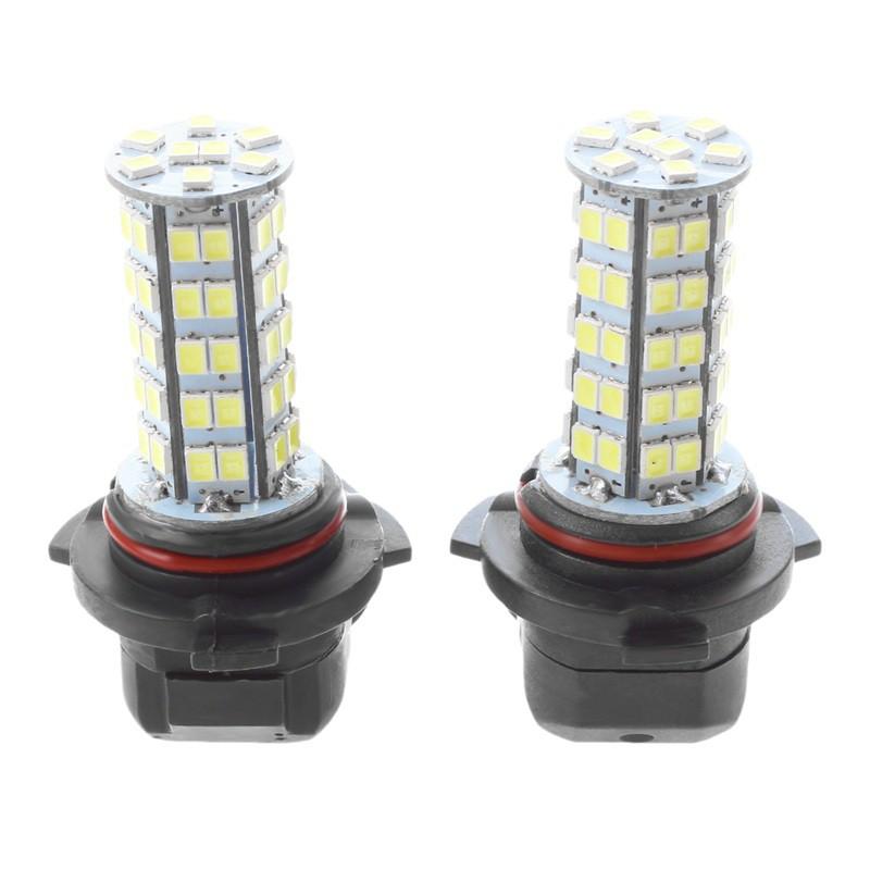 2Pcs Fog Light Bulbs H3 5050 White 9 SMD LED Xenon DC12V Auto Car Fog Light Lamp Led Fog Light Bulb 6500K Super Bright