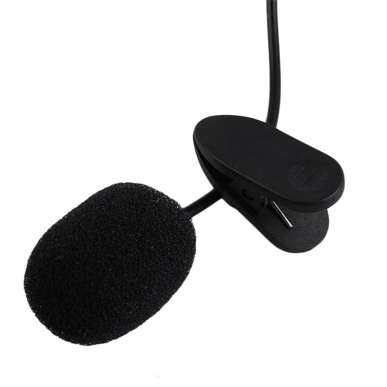 ... Microphone Clip Smartphone Laptop Tablet PC Youtube Vlog Smule VC 3.5m ...