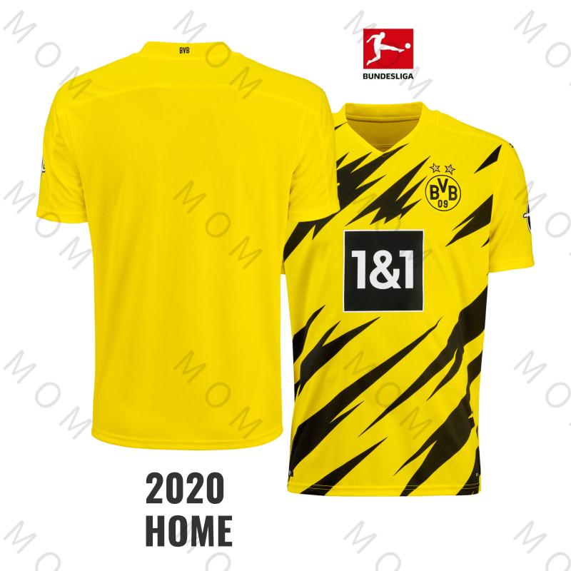 Kaos Jersey Sepak Bola Dortmund 2021 Grade Aaa Dortmund Home 100 Polyester S Xxl Shopee Indonesia