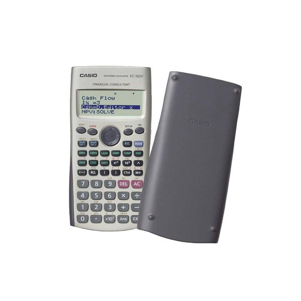 Casio Financial Calculator Fc 100v Shopee Indonesia Kalkulator Portable Printer Hr 8 Tm