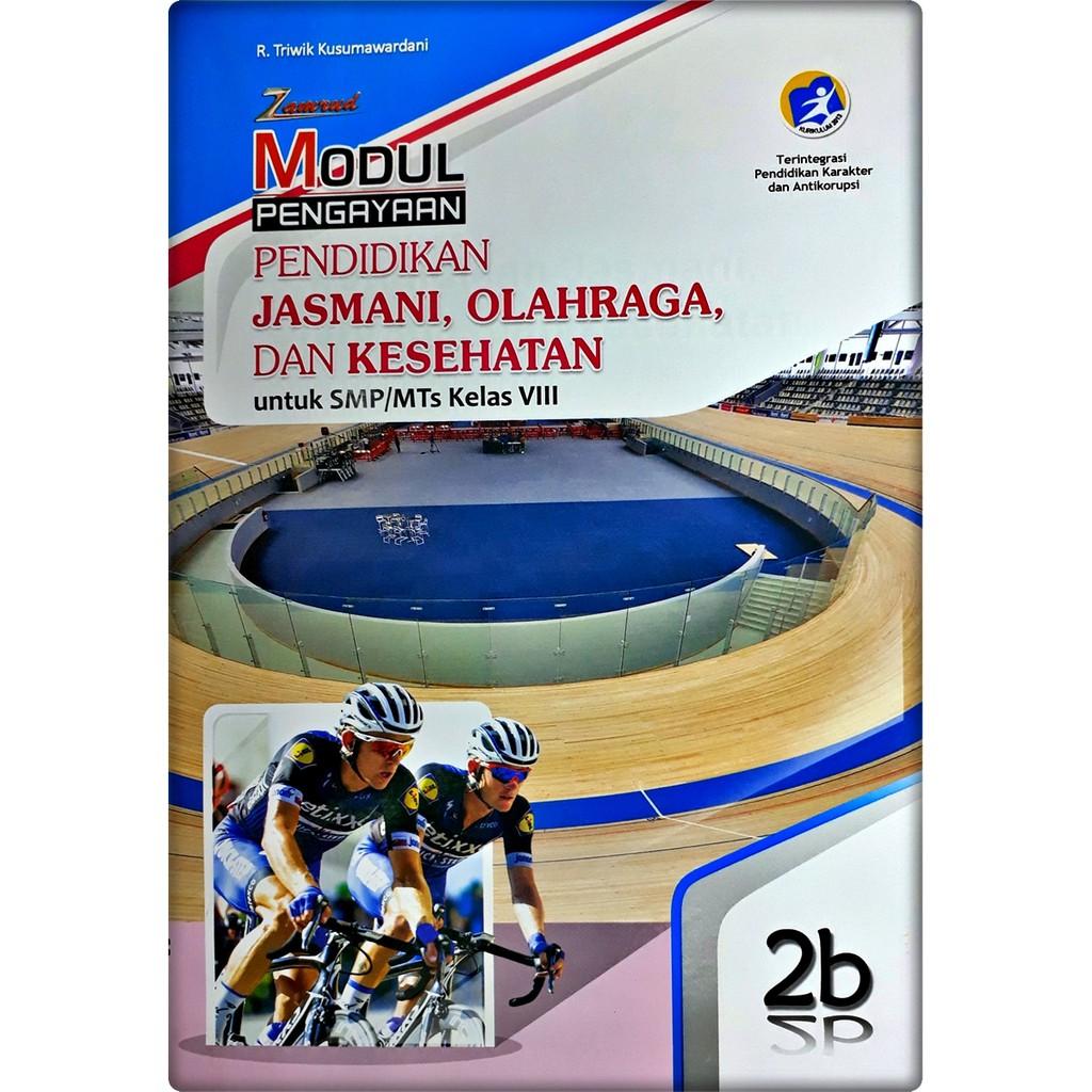 Lks Pendidikan Jasmani Olahraga Dan Kesehatan Penjas Smp Mts Kelas Viii 8 Semester 2 Zamrud Shopee Indonesia