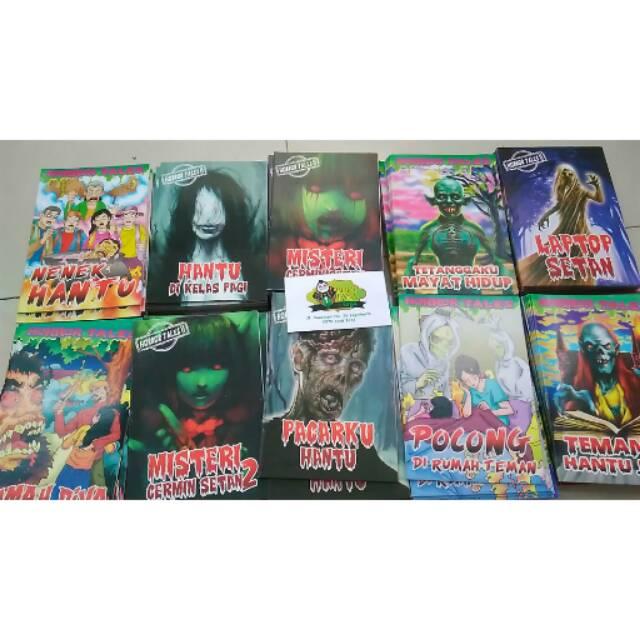 10pc Komik Hantu Komik Misteri Shopee Indonesia