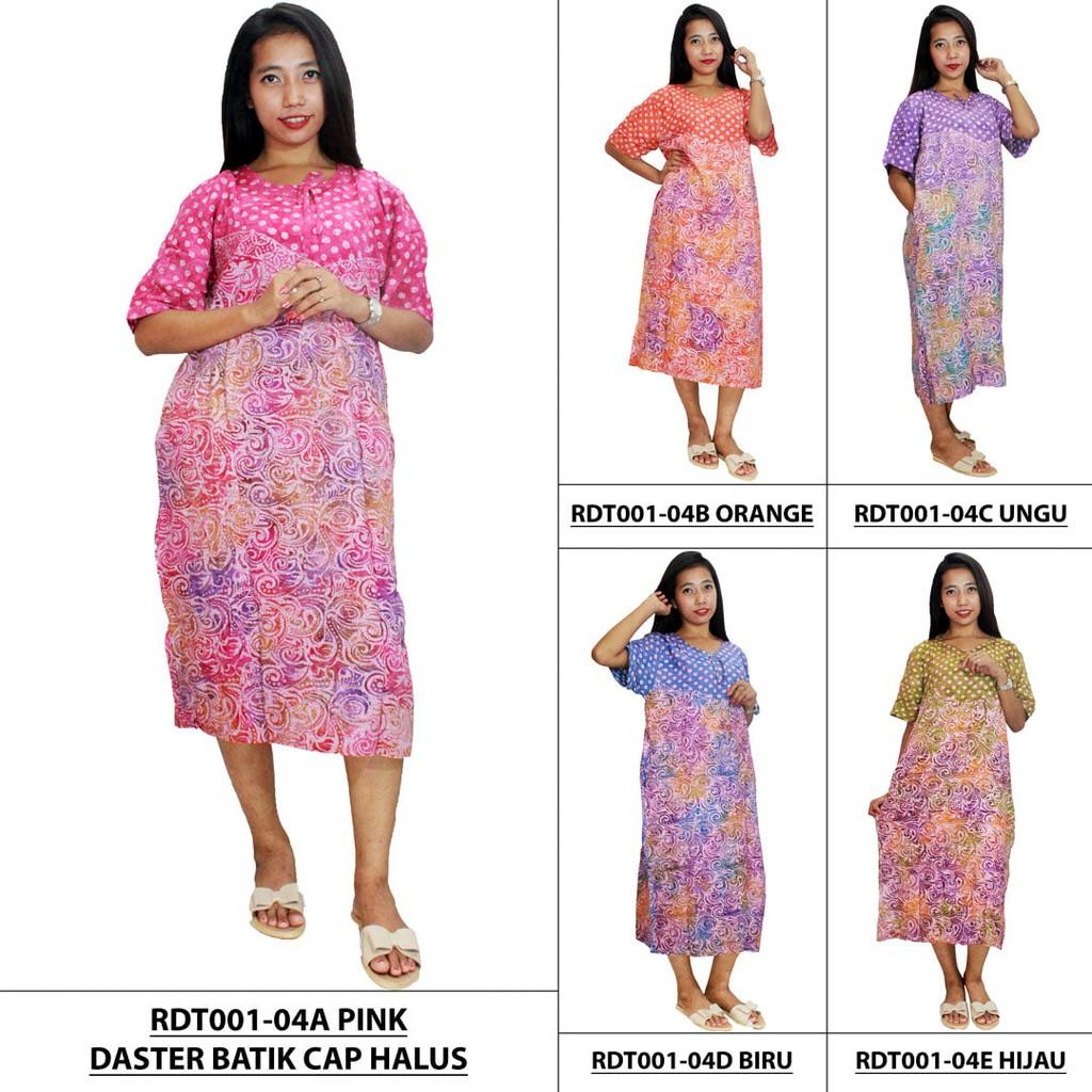 DISKON Daster Kalong Jumbo Batik Cap Baju Tidur Piyama RDT002 01 TERMURAH  4abd902b0e
