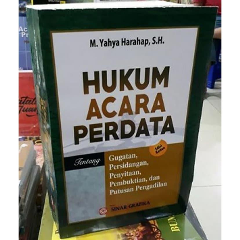 buku hukum acara perdata edisi yahya harahap shopee