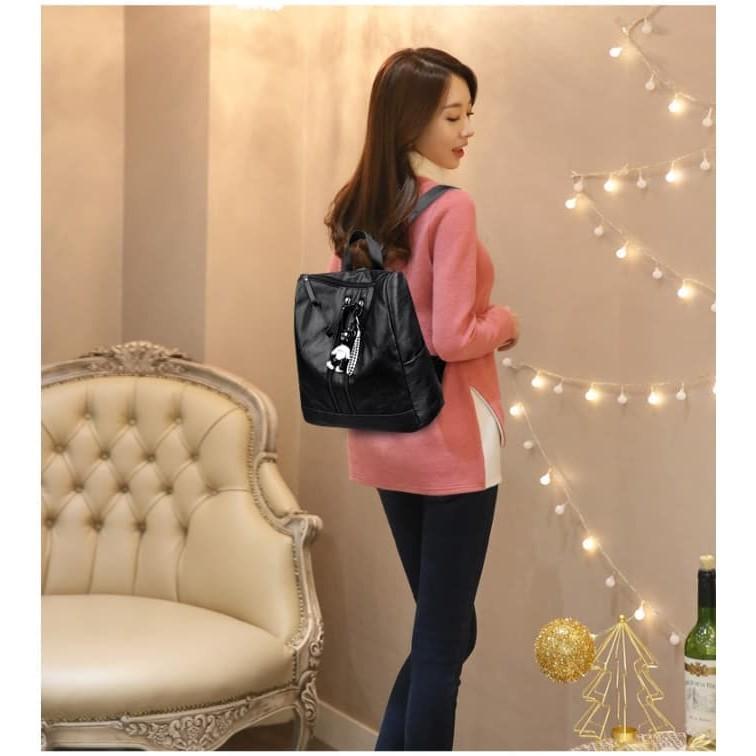 KP301M Tas Ransel Wanita Import Kipling Motif Medium - Putih | Shopee Indonesia