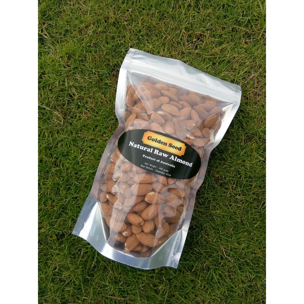 Raw Almond Premium Kacang Mentah 1 Kg Shopee Indonesia Blue Diamond Natural Whole