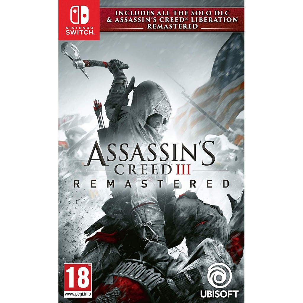 Assassin S Creed Iii Remastered Switch Shopee Indonesia