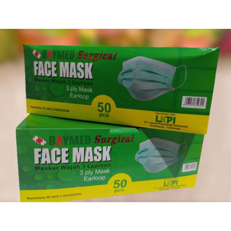 Face mask Baymed (masker medis 3 lapis)