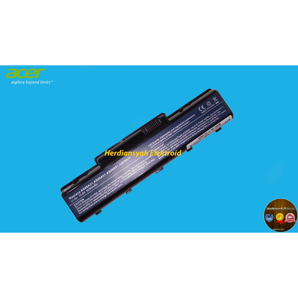 Baterai Laptop Acer Aspire 4732 4732z 5732 5732z 4332 5332 Series Shopee Indonesia