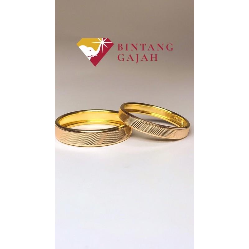 cincin model sisir | 0,5 gram | CINCIN EMAS ASLI